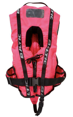 Rettungsweste Bambi Supersoft 100 N 3-12 kg Pink